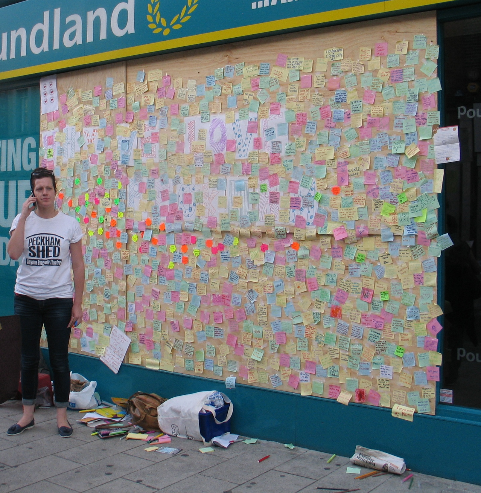 Peckham Peace Wall